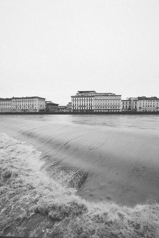 arno river visual concept editing florence firenze rain day svco stefano santucci