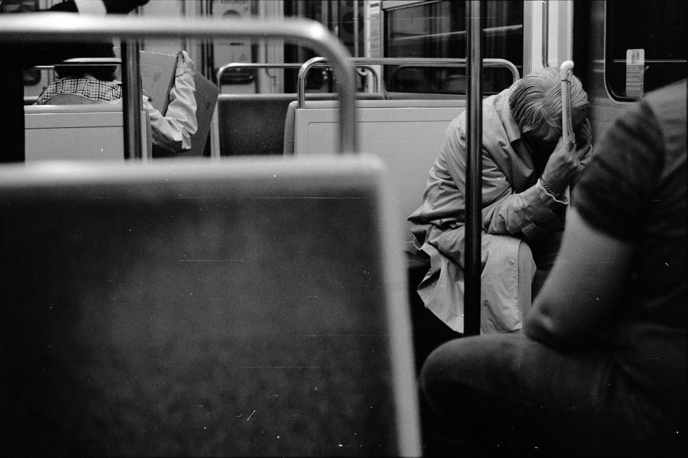 france street photo film filmisnotdead bw stranger paris ilford pentax